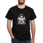 Martial Arts purple belt peng Dark T-Shirt