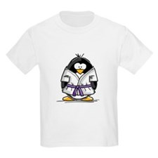 Martial Arts purple belt peng T-Shirt