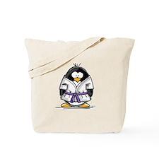 Martial Arts purple belt peng Tote Bag