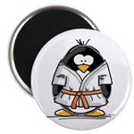 Martial Arts orange belt peng Magnet