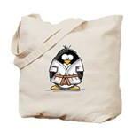 Martial Arts orange belt peng Tote Bag