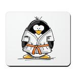 Martial Arts orange belt peng Mousepad