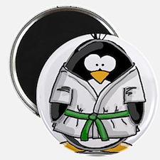 Martial Arts green belt pengu Magnet