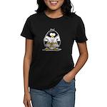Martial Arts gold belt pengui Women's Dark T-Shirt