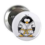 Martial Arts gold belt pengui Button