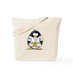 Martial Arts gold belt pengui Tote Bag