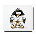 Martial Arts gold belt pengui Mousepad