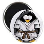 Martial Arts brown belt pengu Magnet