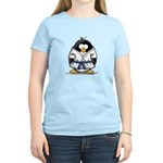 Martial Arts blue belt pengui Women's Light T-Shir