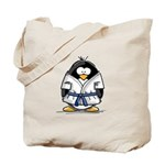 Martial Arts blue belt pengui Tote Bag