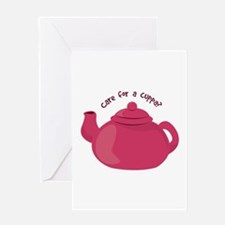 Care For A Cuppa? Greeting Cards