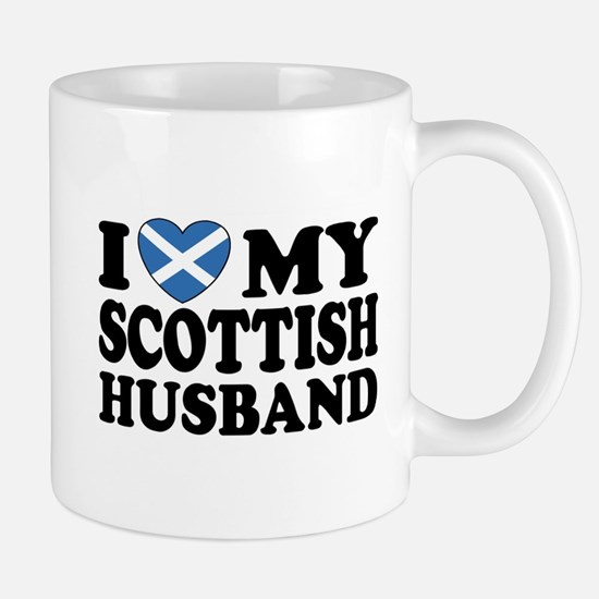 I Love My Scottish Husband Mug