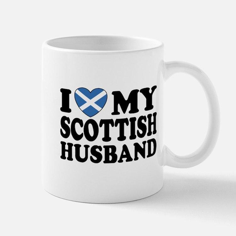 I Love My Scottish Husband Mug