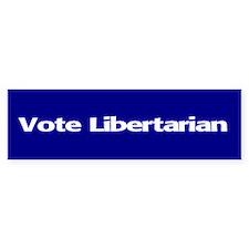 Vote Libertarian Bumper Bumper Sticker