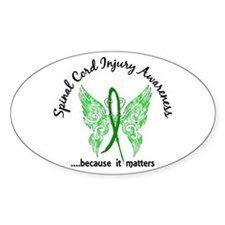Spinal Cord Injury Butterfly 6.1 Decal