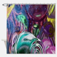 Cool Tye dye Shower Curtain