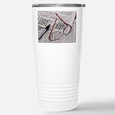 Crossword Genius Travel Mug