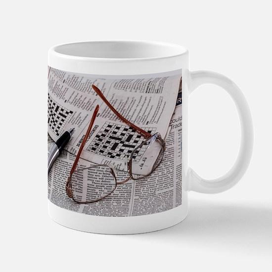 Crossword Genius Mugs