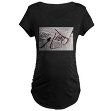 Crossword Genius Maternity T-Shirt