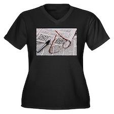 Crossword Genius Plus Size T-Shirt
