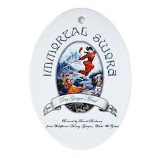 Immortal Sword label ornament