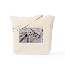Crossword Genius Tote Bag