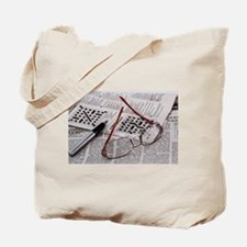 Crossword Genius Tote Bag