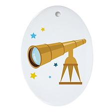 Telescope Ornament (Oval)