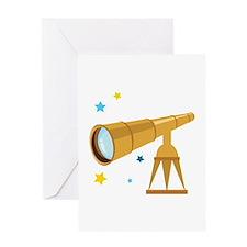 Telescope Greeting Cards