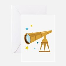 Telescope Greeting Cards