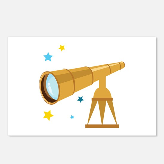 Telescope Postcards (Package of 8)