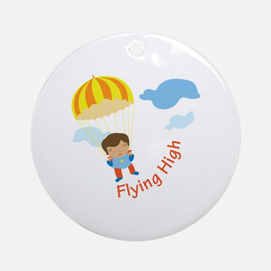 Flying High Ornament (Round)