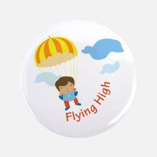 """Flying High 3.5"""" Button"""