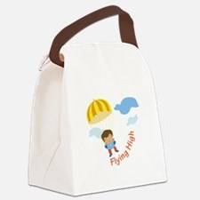 Flying High Canvas Lunch Bag