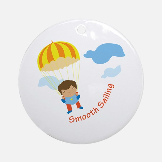 Smooth Sailing Ornament (Round)
