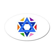 STAR OF DAVID Wall Sticker
