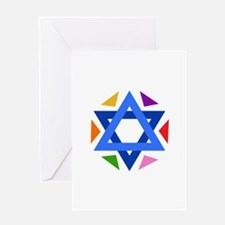 STAR OF DAVID Greeting Cards