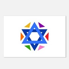 STAR OF DAVID Postcards (Package of 8)