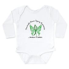 TBI Butterfly 6.1 Long Sleeve Infant Bodysuit