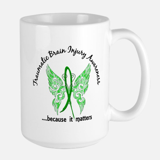 TBI Butterfly 6.1 Large Mug