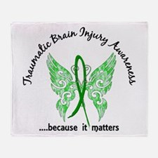 TBI Butterfly 6.1 Throw Blanket
