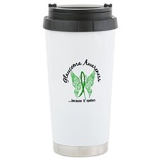 Glaucoma Butterfly 6.1 Travel Mug