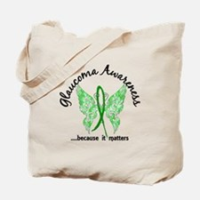 Glaucoma Butterfly 6.1 Tote Bag