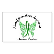Neurofibromatosis Butterfly 6. Decal