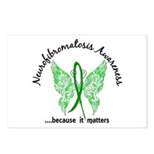 Neurofibromatosis Butterf Postcards (Package of 8)