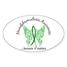 Neurofibromatosis Butterfly 6 Decal