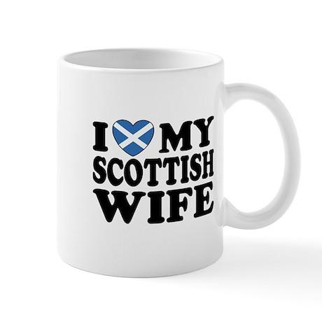 I Love My Scottish Wife Mug