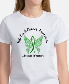 Bile Duct Cancer Butterfly 6.1 Tee