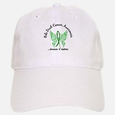 Bile Duct Cancer Butterfly 6.1 Baseball Baseball Cap