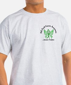 Bile Duct Cancer Butterfly 6.1 T-Shirt